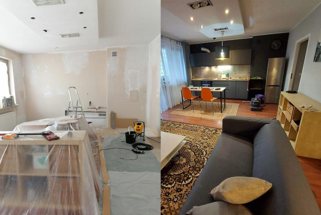 malowanie i remonty mieszkań