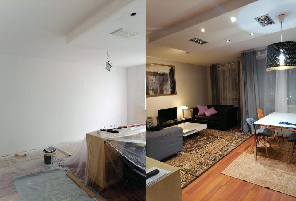 Malowanie remonty mieszkań
